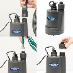 1 4 hp utility pump submersible thermoplastic