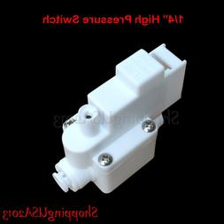 """1 Pc 1/4"""" High Pressure Switch For Pump RO Water Fitlers Rev"""