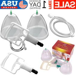 2 Cups Breast  System Breast Enlargement Massager Breastfeed