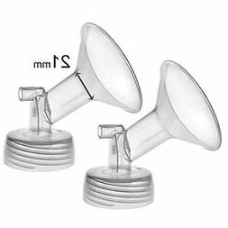 2X 21 mm Maymom Wide Neck Pump Parts for Spectra S1/S2