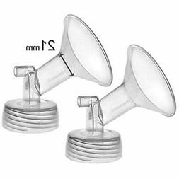 2X 21 Mm Maymom Wide Neck Pump Parts For Spectra S1/S2 Pumps