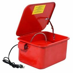 3.5 Gallon Parts Washer Cleaner Portable Compact Electric So