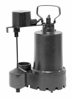 Superior Pump 7417629 .33 Hp Iron Sump Pump Vertical