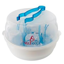 Kiddiluv Microwave Steam Sterilizer - Fits 6 Baby Bottles