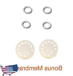 Replacement Parts for Medela Harmony Manual Pump; 4 O-rings,