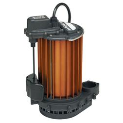 Auto Submersible Sump Pump 1/2HP 115V Liberty 457 Magnetic V