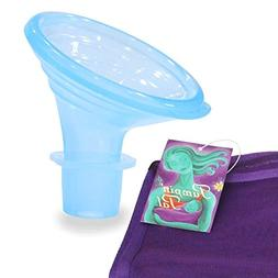 Pumpin' Pal Breast Pump Flanges with Mesh Parts Bag Sizes X-