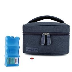 Breastmilk Cooler with Ice Pack Healthy Baby Daycare Set - K