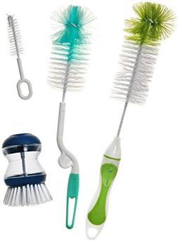 Simple Health Global 4-In-1 Bottle Cleaning Soft Brush Set w