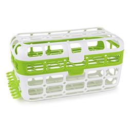 Munchkin High Capacity Dishwasher Basket, Green