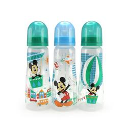 The First Years Disney Baby Mickey Mouse Slim Bottles,8 oz,