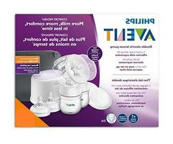 Philips Avent Double Electric Breast Pump + Bonus Power Cush