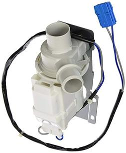 Express Parts Drain Pump Assembly Replacement for GE WH23X10