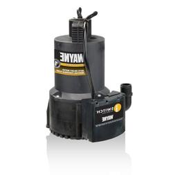 WAYNE EEAUP250 1/4 HP Automatic ON/OFF Electric Water Remova