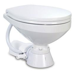 Jabsco 37010-4092 Electric Marine Toilet Regular Bowl 12 Vol