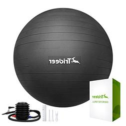 55-85cm Exercise Ball, Extra Thick Swiss Fitness Yoga Pilate