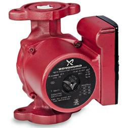 3-Speed Grundfos Pump Hot Water Circulator Pump Model UPS15-