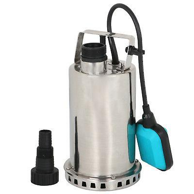 Submersible Pump 1HP Stainless Steel Sump Dirty Clean Water