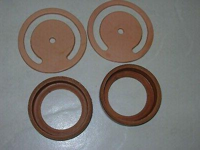 2-SETS PITCHER leather repair parts. CUP &