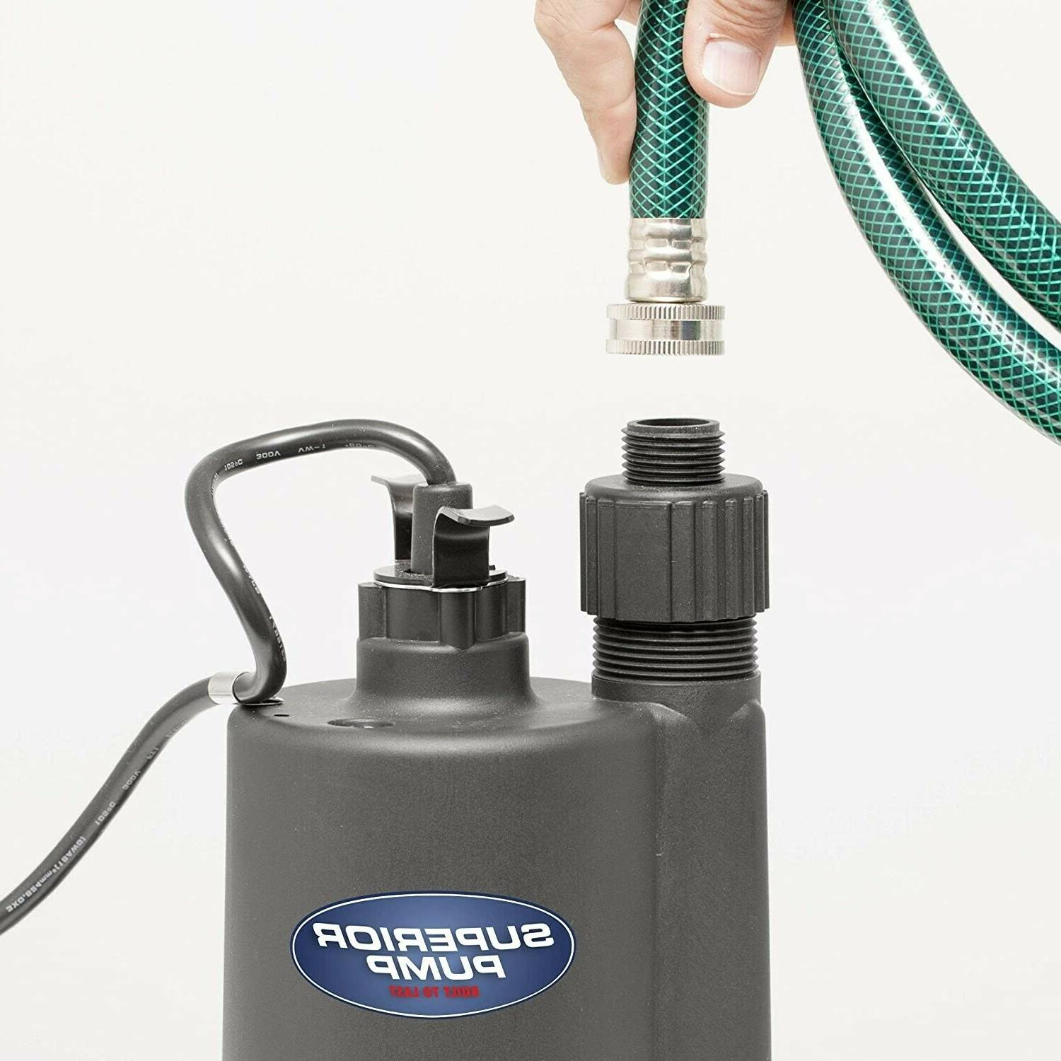 Superior HP Thermoplastic Pump with 10-Foot