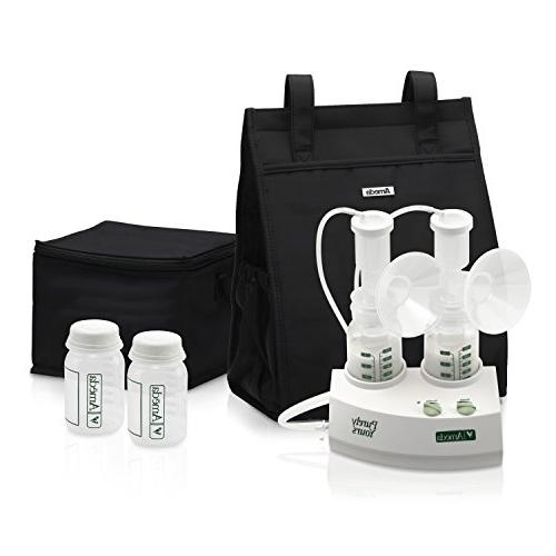 Ameda Purely Yours Double Electric Breast Pump White, Includ