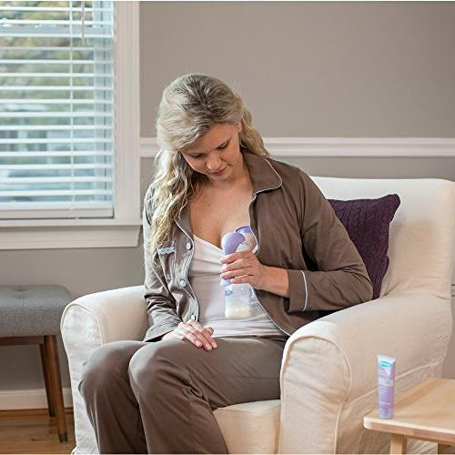 Lansinoh with Stimulation Expression Modes, Breast Pump Compatible all Lansinoh Baby Bottles & Breast Milk Storage Bags