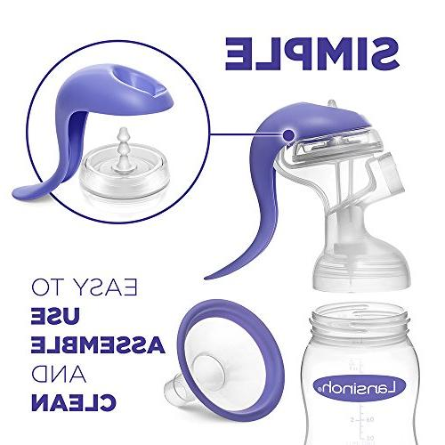 Lansinoh Manual Pump with Modes, Compatible all Lansinoh Baby Milk