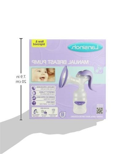 with and Modes, Portable Breast Pump Compatible with all Lansinoh Baby & Breast Milk