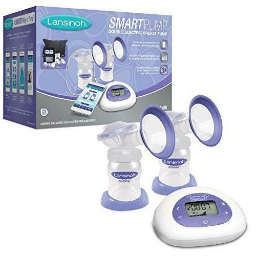 Lansinoh Smartpump Double Electric Breast Pump Connects