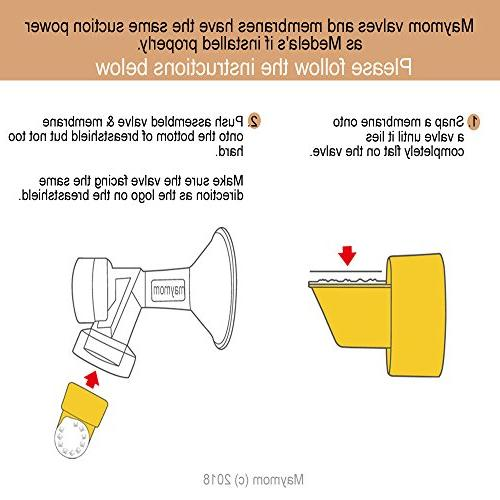 Tubing Replacement 2 Valves and for Style Advanced Breast Pump Released Jul 2006. Can Medela & Membrane; Made by