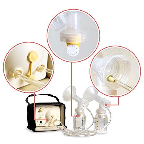 Tubing Replacement Valves 2 for Style Advanced Breast Released After 2006. Can & Maymom.