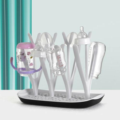 Baby Bottle Drying Rack Munchkin Infant Teats Cups Breast Pu