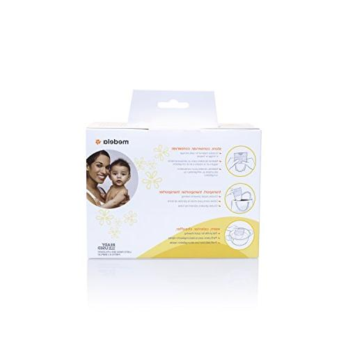 Medela, Bags, to Milk Bags for Breastfeeding, Flat Count
