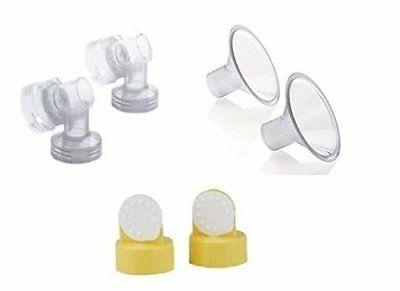 breast shields connectors valves and membranes 21mm