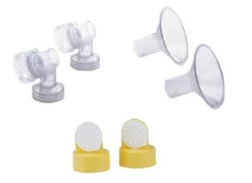 breast shields connectors valves and membranes 24mm