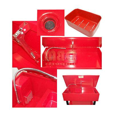 Electric 40 Gallon Washer Solvent Tank Shelf