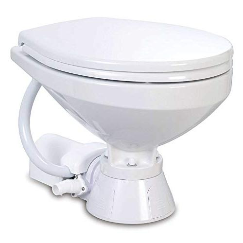electric marine toilet compact bowl