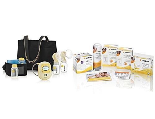 NEW Medela 67060 Freestyle Double Electric Rechargeable Breastpump Deluxe Set