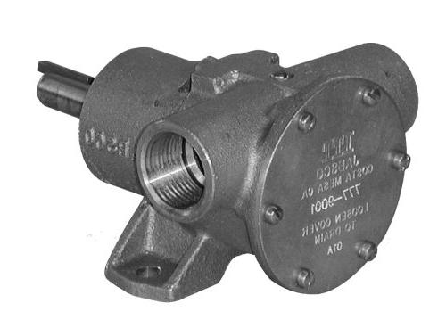 marine pulley driven flexible impeller