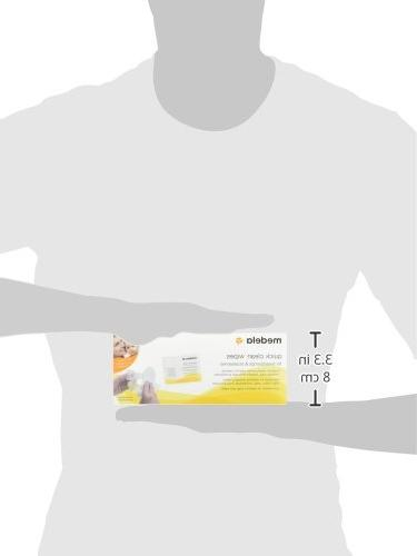 Medela Quick Clean Pump Accessory Wipes, 40 Convenient Wipes High Chairs, Tables, and Countertops