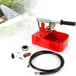 Manual Test Pump Hydraulic Pressure Test Machine Detector Pu