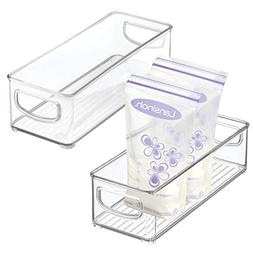 mDesign Baby Food Kitchen Refrigerator Cabinet or Pantry Sto