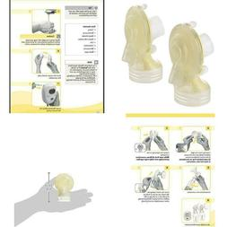 Medela Freestyle Spare Parts Kit, Breast Shield Connectors A