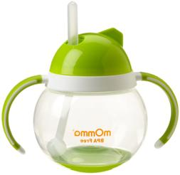 Momma Baby/Toddler Rocking Straw Cup With Dual Handle, 8.4 O