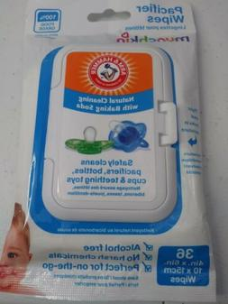 Munch A&H Pacifier Wipes Size 36pk Munch A&H Pacicier Wipes