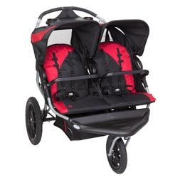 Baby Trend Navigator Lite Double Jogger Stroller, Candy Appl