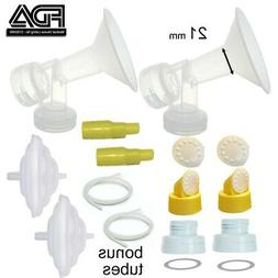 Maymom Tubing Parts for Ameda Purely Yours Breast Pumps;