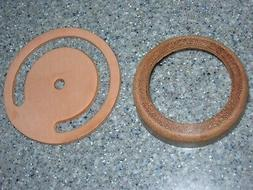 "PITCHER PUMP    2-Pc.  leather repair parts.  3""  CUP &  LOW"