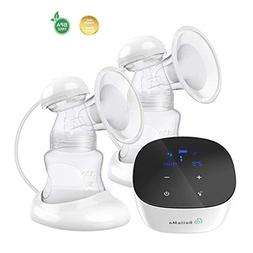 BelleMa Plenitude Pro Double/Single Electric Breast Pump, In
