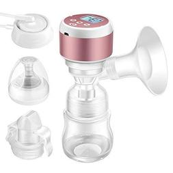 Portable Electric Breast Pump - Dual Use Battery Baby Milk P